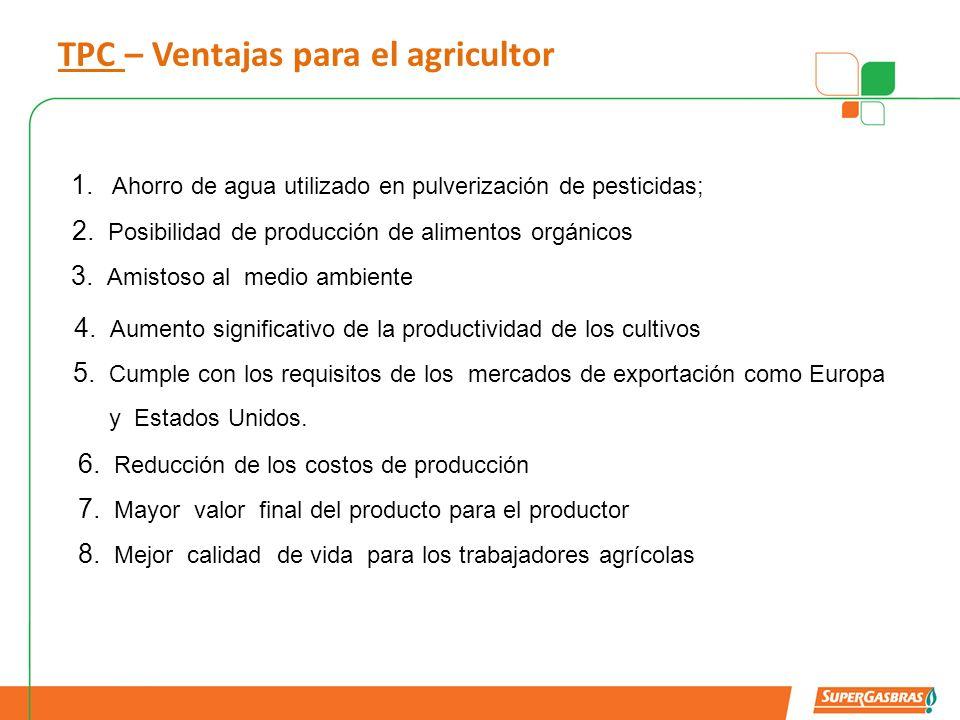 TPC – Ventajas para el agricultor
