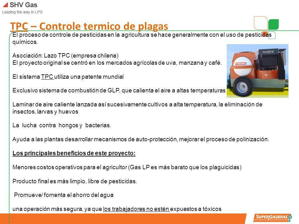 TPC – Controle termico de plagas