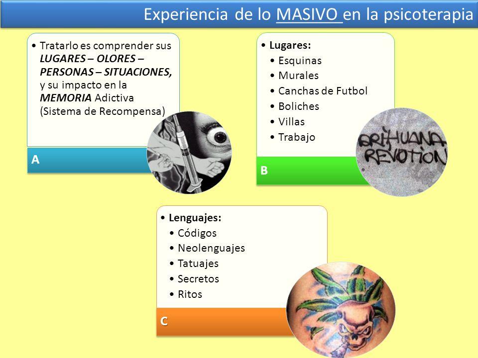 Experiencia de lo MASIVO en la psicoterapia