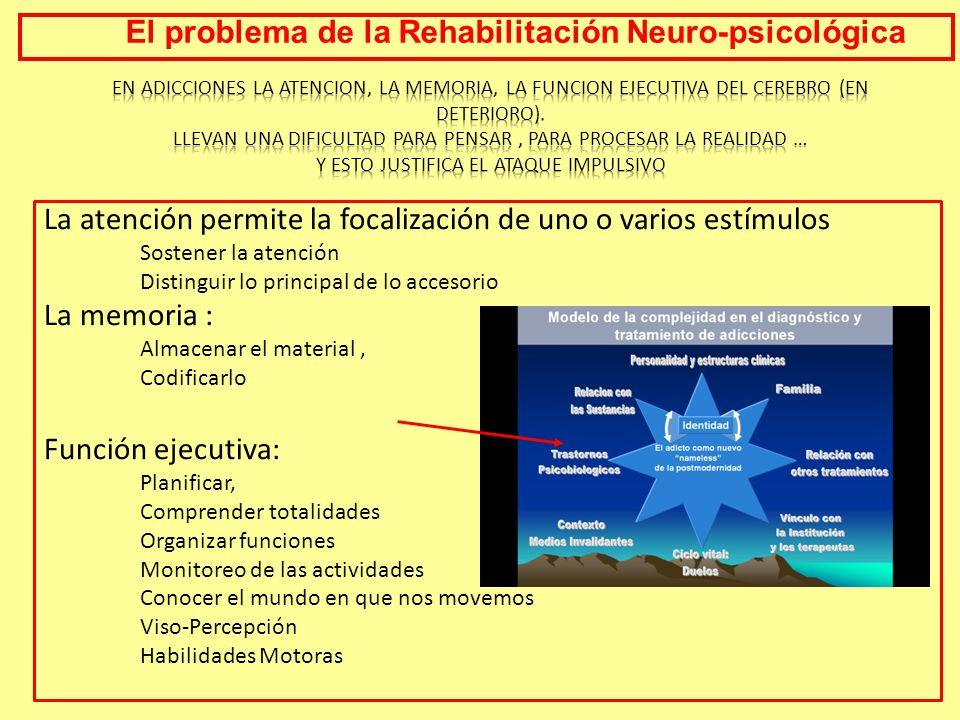 El problema de la Rehabilitación Neuro-psicológica