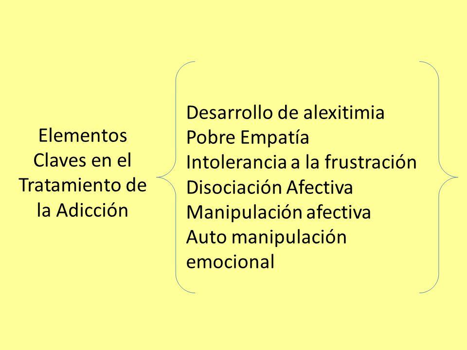 Elementos Claves en el Tratamiento de la Adicción