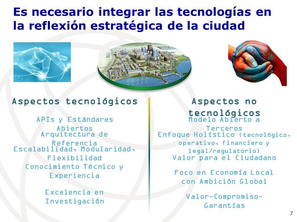 Es necesario integrar las tecnologías en la reflexión estratégica de la ciudad