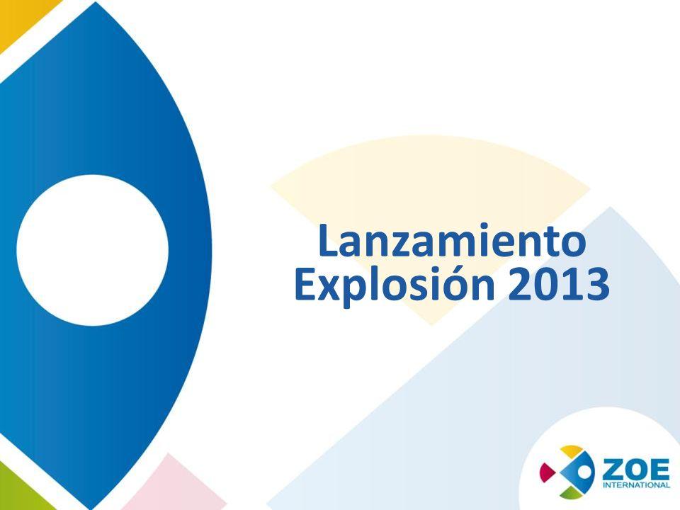 Lanzamiento Explosión 2013