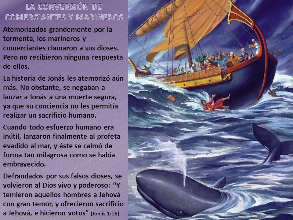 LA CONVERSIÓN DE COMERCIANTES Y MARINEROS