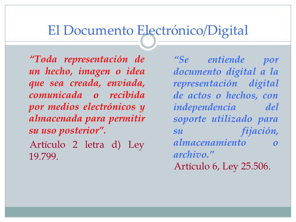 El Documento Electrónico/Digital
