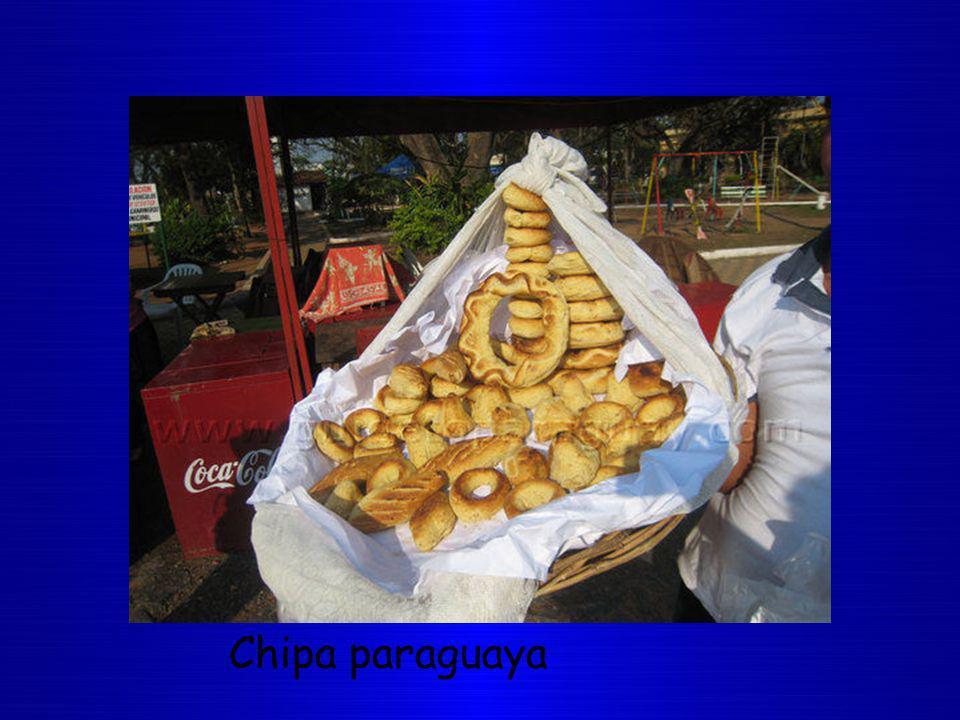 Chipa paraguaya