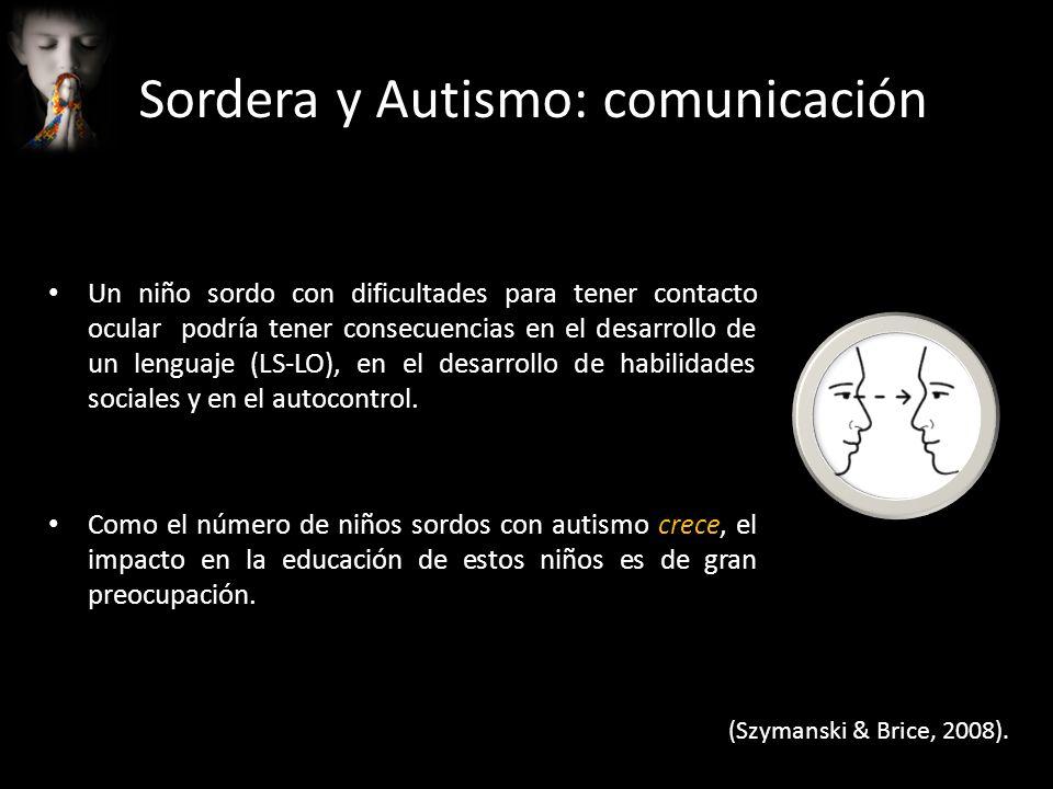 Sordera y Autismo: comunicación