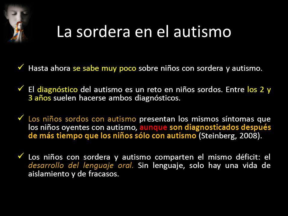 La sordera en el autismo