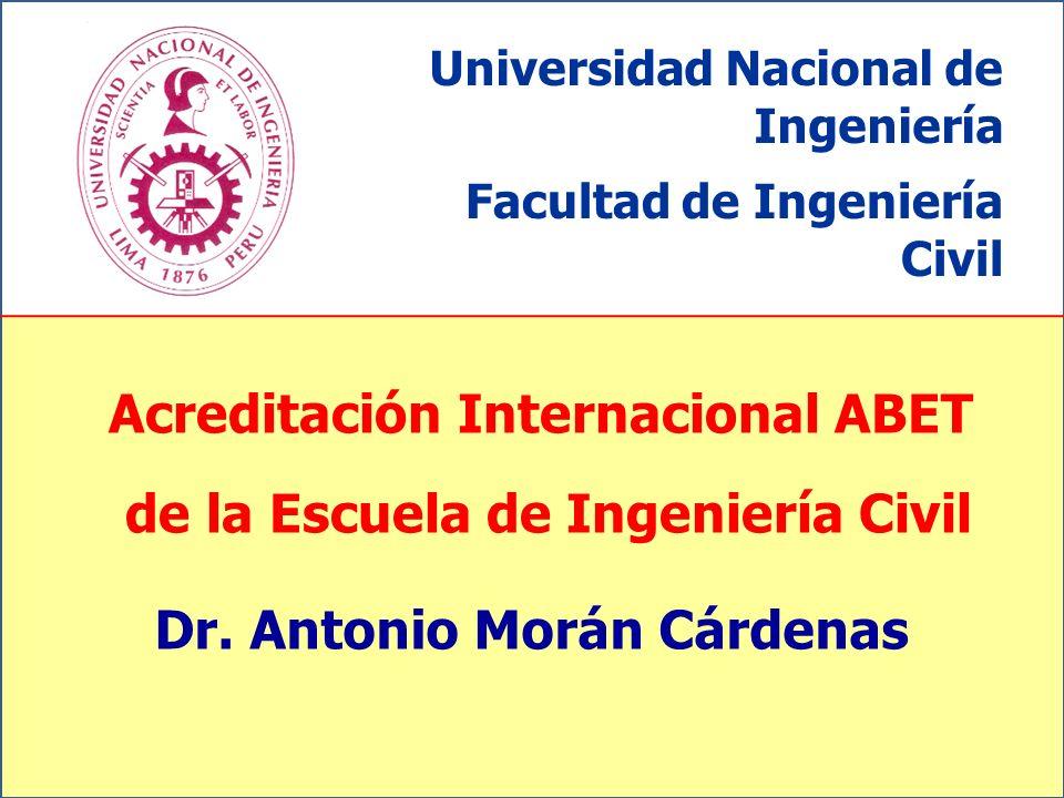 Acreditación Internacional ABET