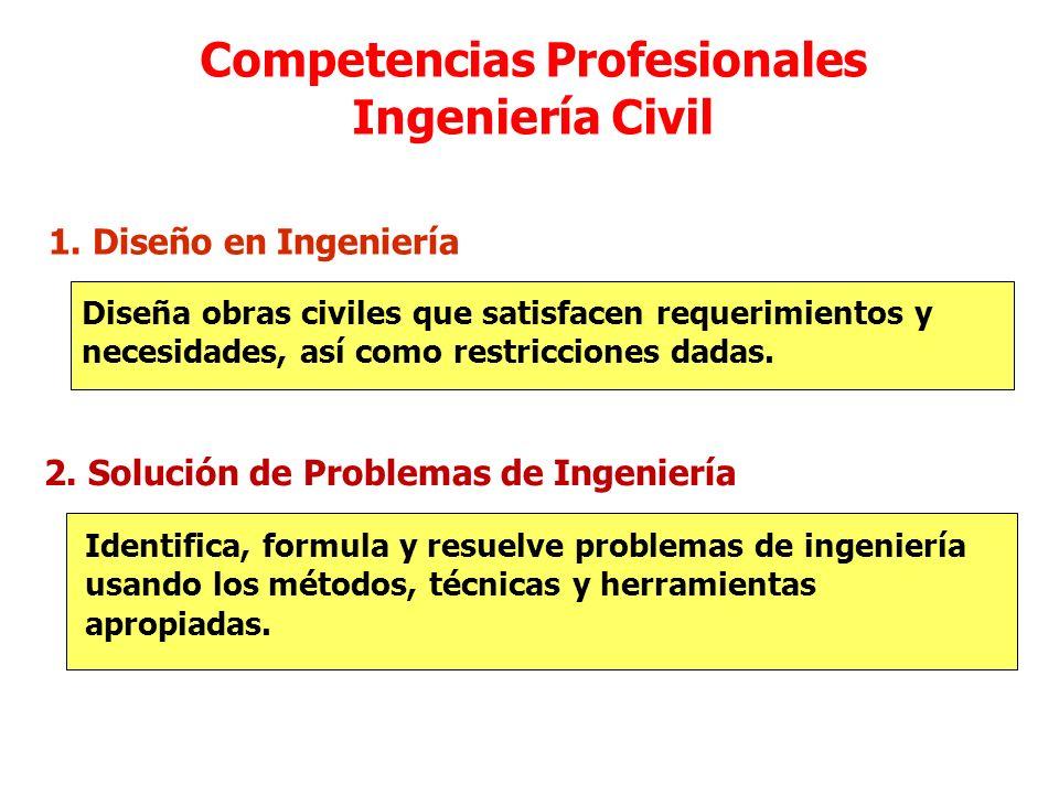 Competencias Profesionales Ingeniería Civil