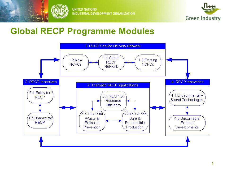 Global RECP Programme Modules