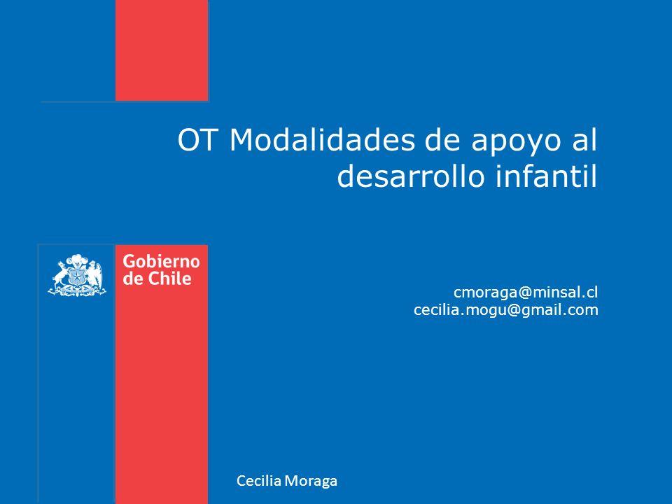 OT Modalidades de apoyo al desarrollo infantil cmoraga@minsal