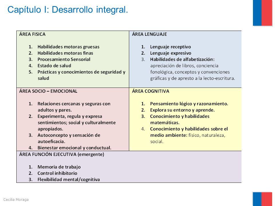 Capítulo I: Desarrollo integral.