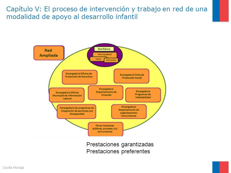 Capítulo V: El proceso de intervención y trabajo en red de una modalidad de apoyo al desarrollo infantil