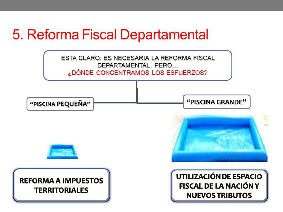 5. Reforma Fiscal Departamental