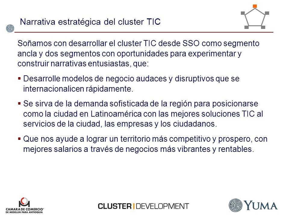 Narrativa estratégica del cluster TIC