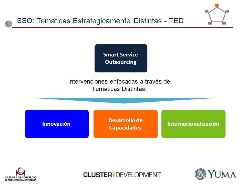 SSO: Temáticas Estrategicamente Distintas - TED