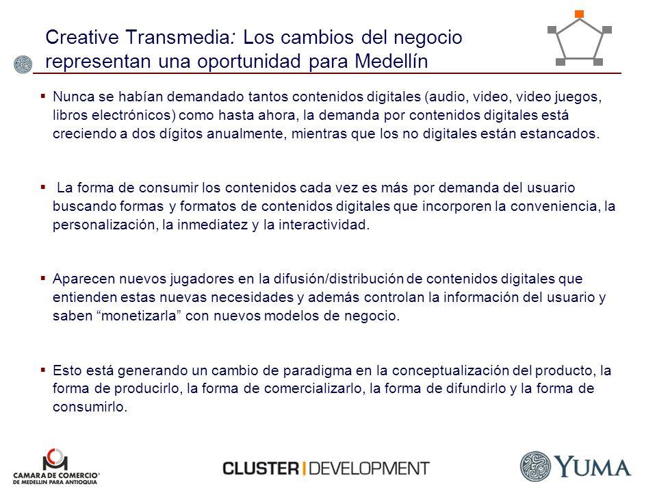 Creative Transmedia: Los cambios del negocio representan una oportunidad para Medellín