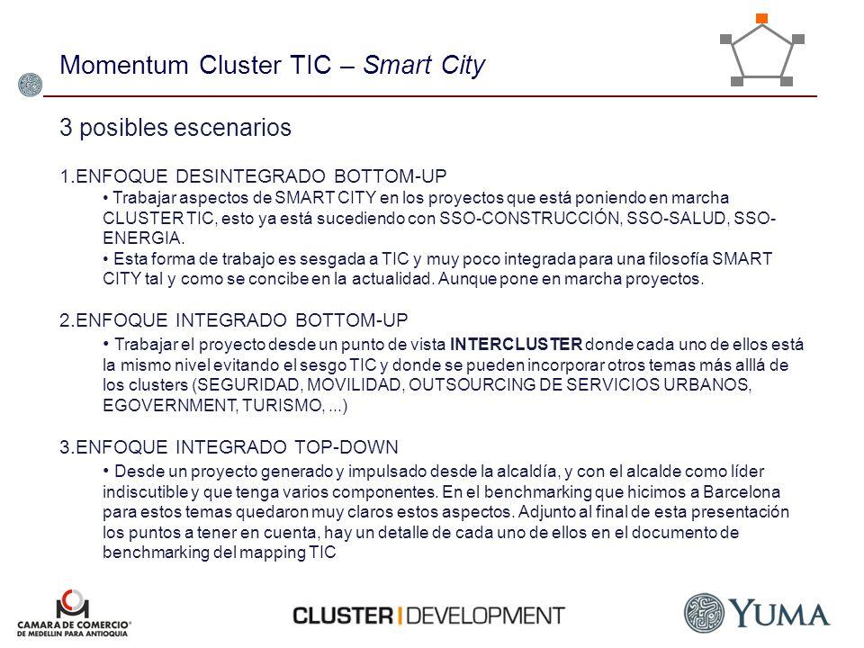 Momentum Cluster TIC – Smart City