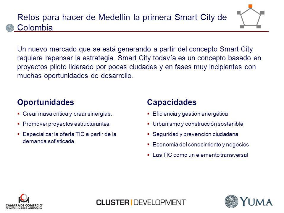 Retos para hacer de Medellín la primera Smart City de Colombia