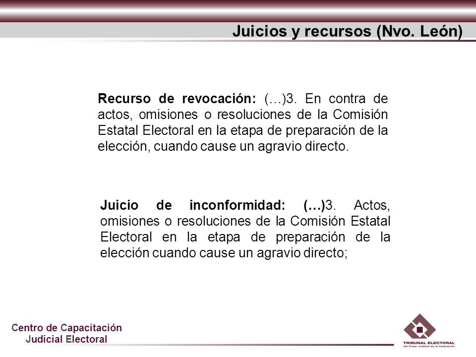 Juicios y recursos (Nvo. León)