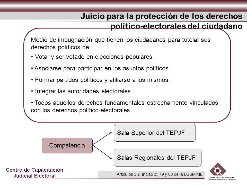 Juicio para la protección de los derechos político-electorales del ciudadano