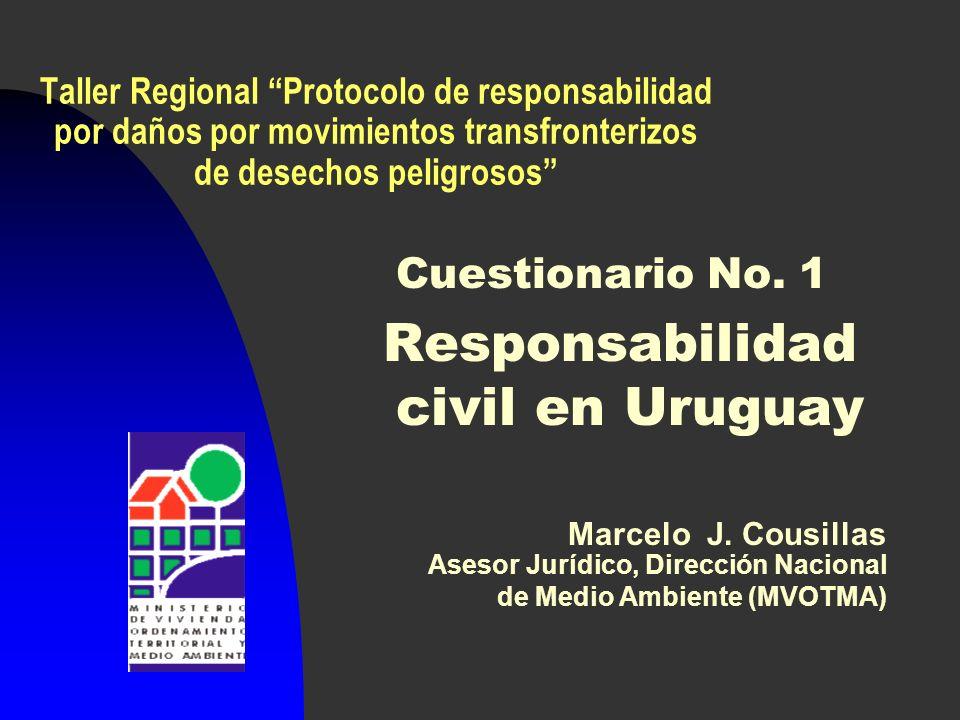 Responsabilidad civil en Uruguay