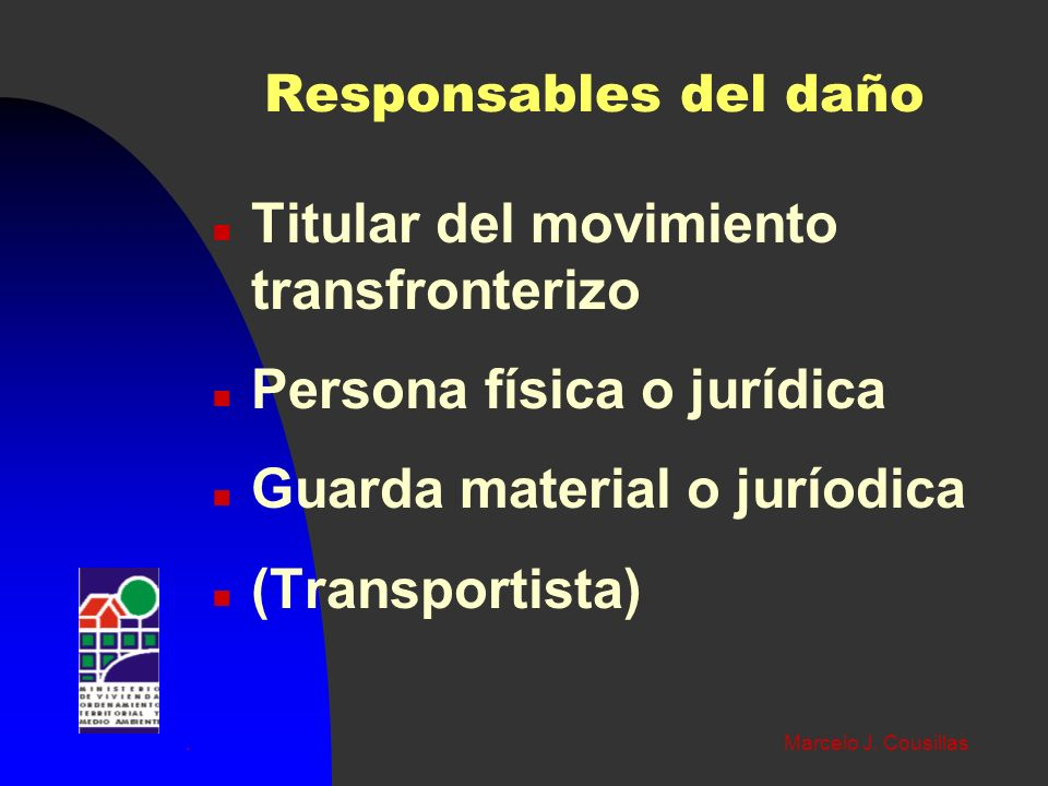 Titular del movimiento transfronterizo Persona física o jurídica