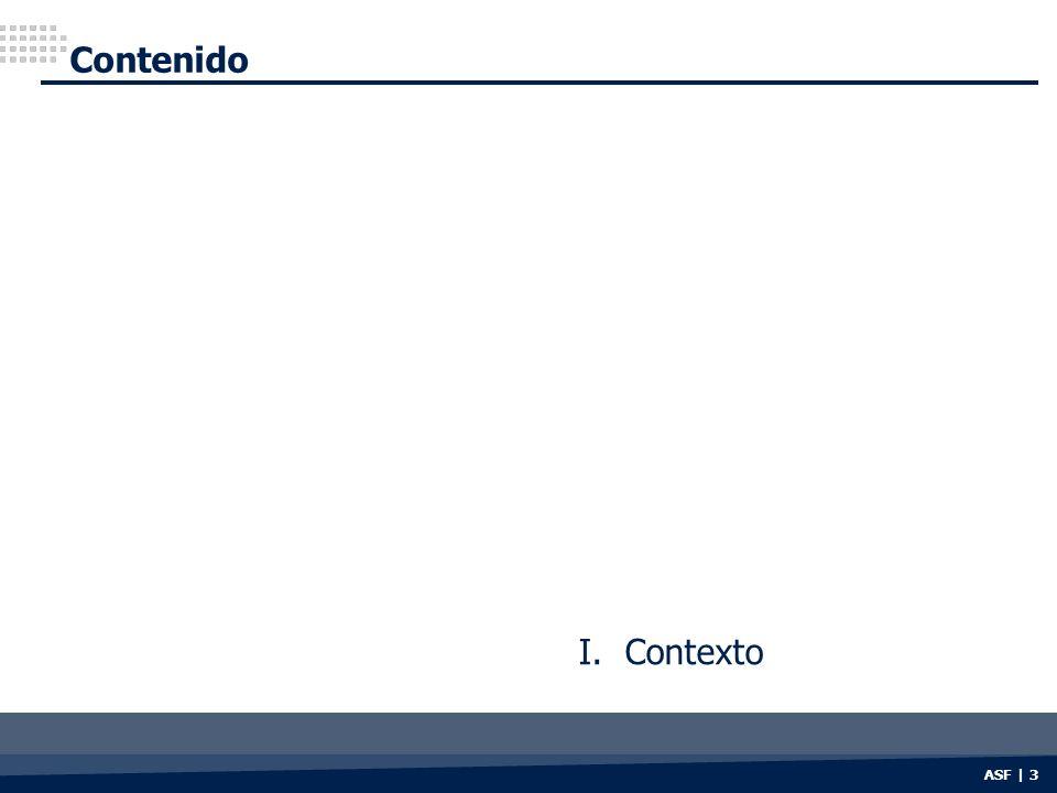 Contenido I. Contexto ASF | 3