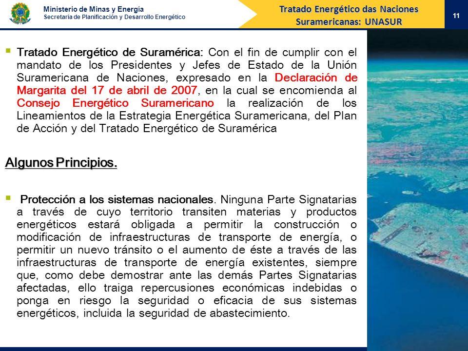 Tratado Energético das Naciones Suramericanas: UNASUR