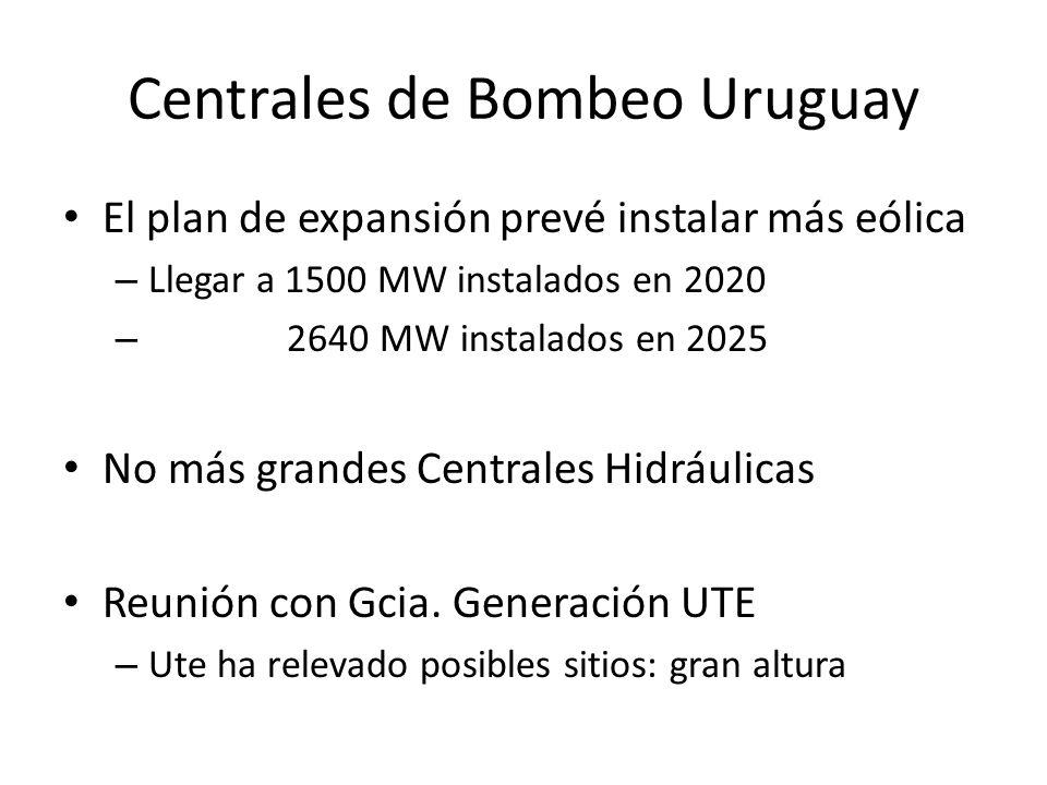 Centrales de Bombeo Uruguay