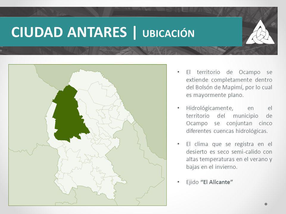 CIUDAD ANTARES | UBICACIÓN