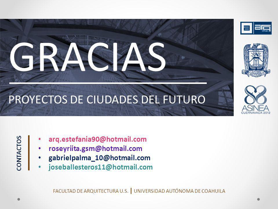 FACULTAD DE ARQUITECTURA U.S. | UNIVERSIDAD AUTÓNOMA DE COAHUILA