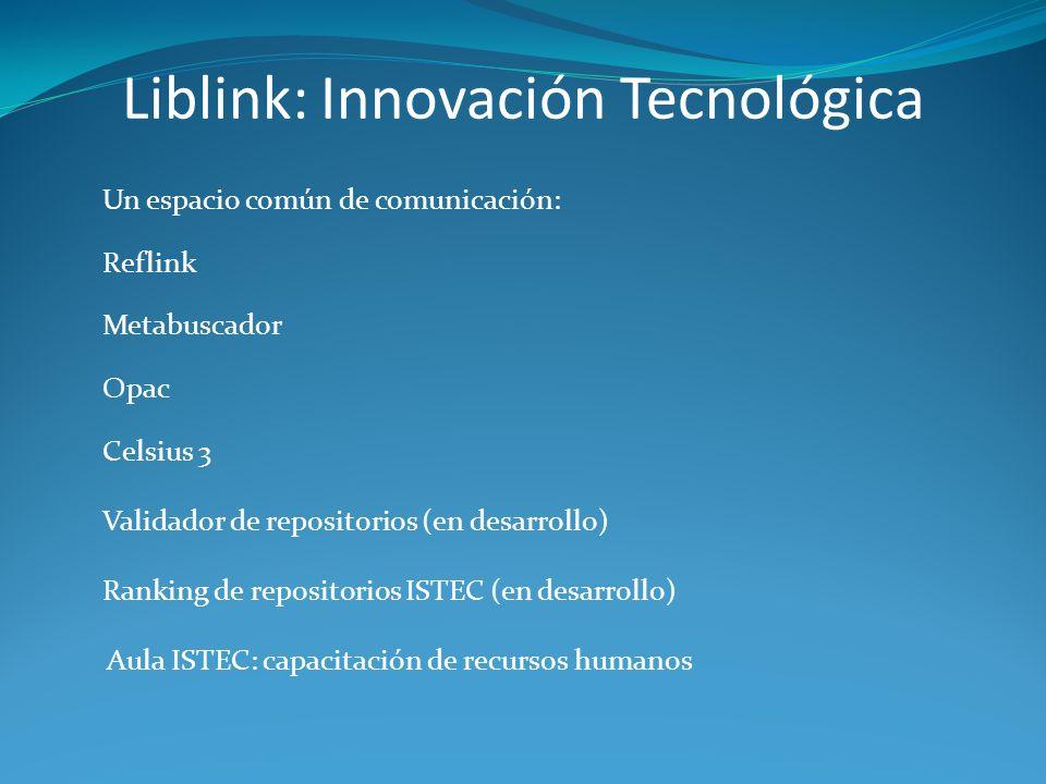 Liblink: Innovación Tecnológica