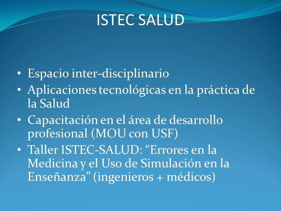 ISTEC SALUD Espacio inter-disciplinario