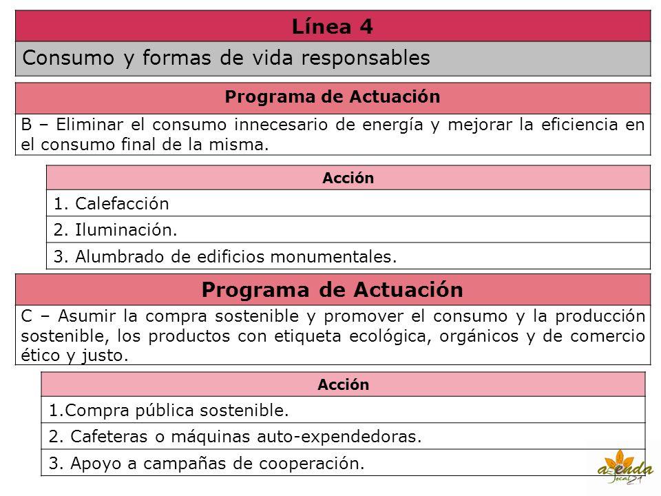 Línea 4 Programa de Actuación