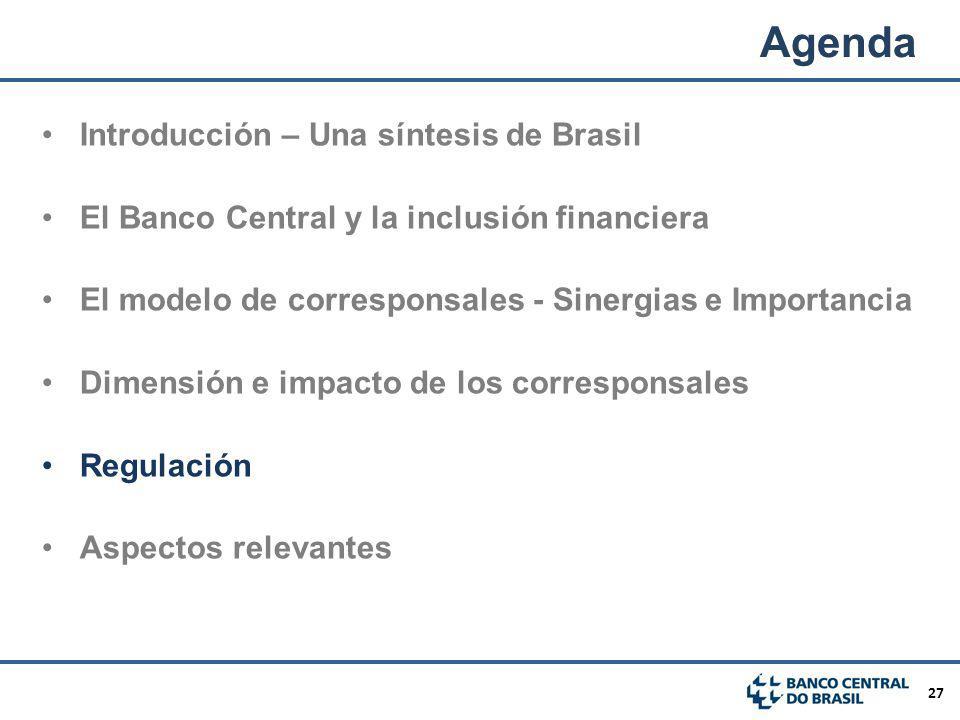 Agenda Introducción – Una síntesis de Brasil