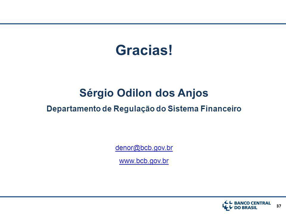 Gracias! Sérgio Odilon dos Anjos
