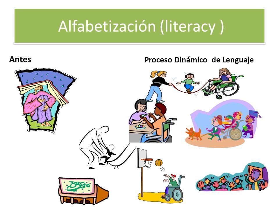 Alfabetización (literacy )