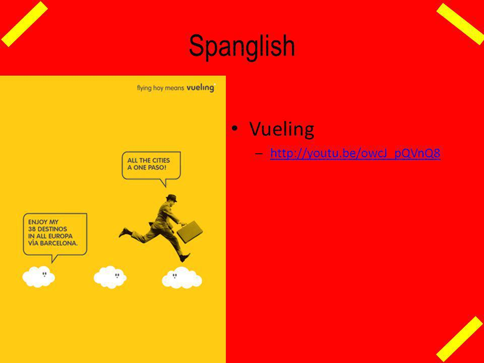 Spanglish Vueling http://youtu.be/owcJ_pQVnQ8