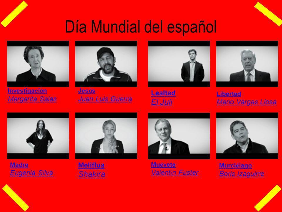 Día Mundial del español