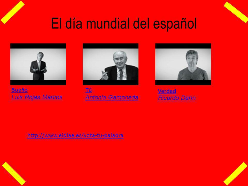 El día mundial del español