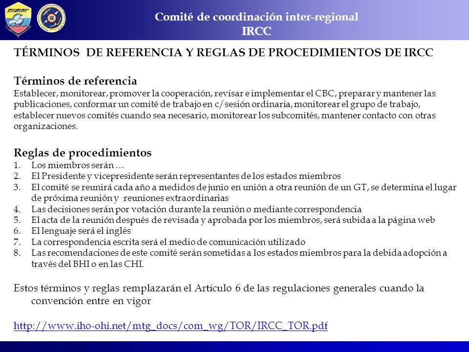 Comité de coordinación inter-regional