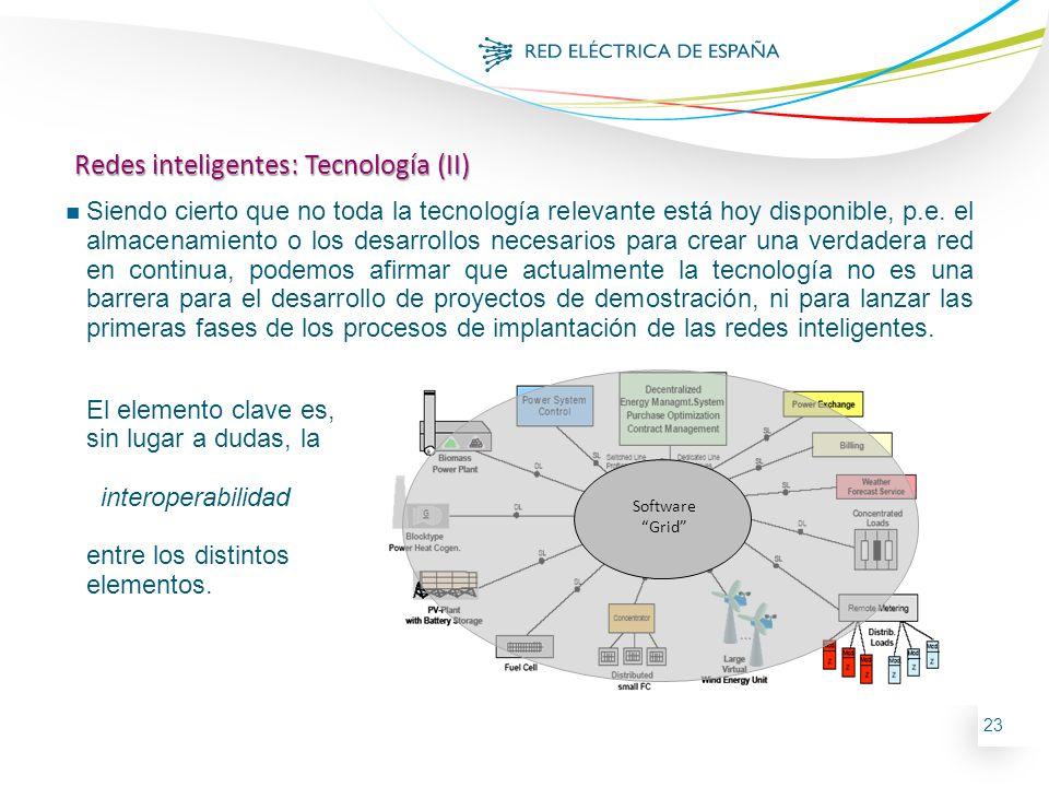 Redes inteligentes: Tecnología (II)