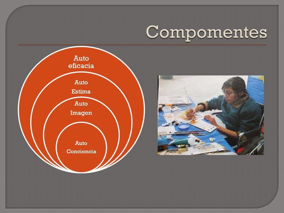 Compomentes Auto eficacia Auto Estima Imagen Conciencia