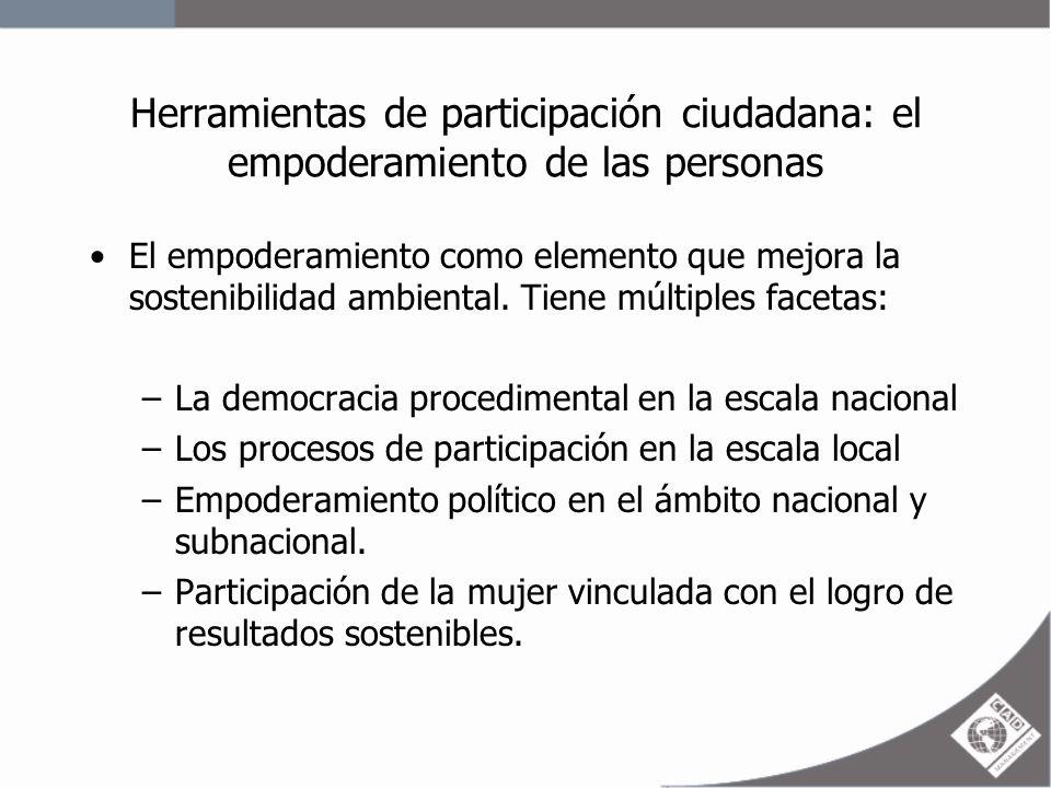Herramientas de participación ciudadana: el empoderamiento de las personas