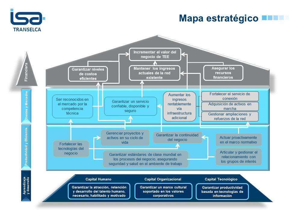 Mapa estratégico © Todos los derechos reservados por Interconexión Eléctrica S.A. E.S.P.