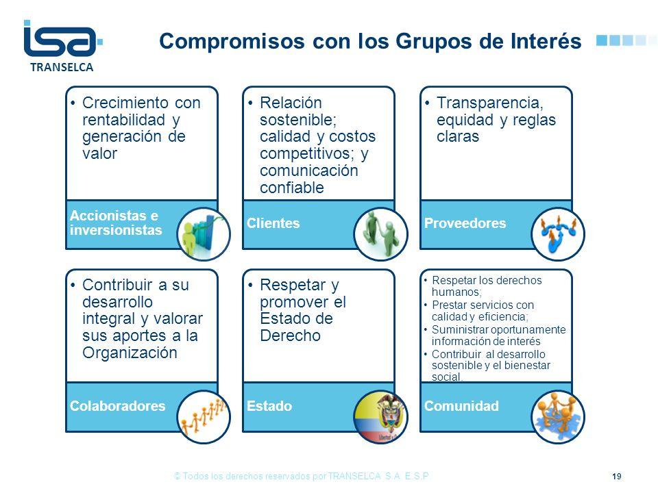 Compromisos con los Grupos de Interés