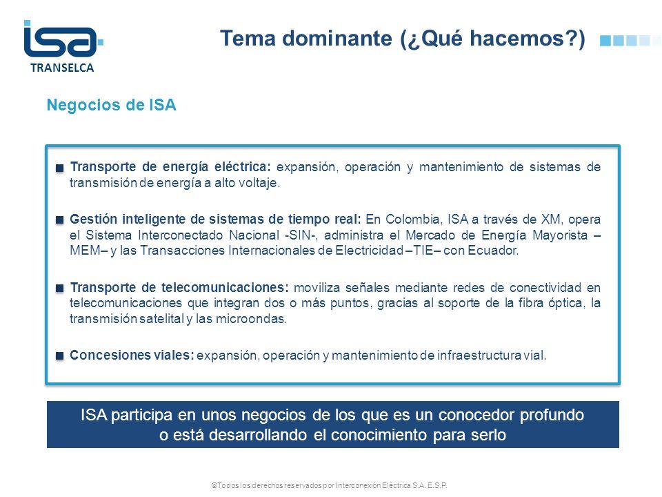 ©Todos los derechos reservados por Interconexión Eléctrica S.A. E.S.P.