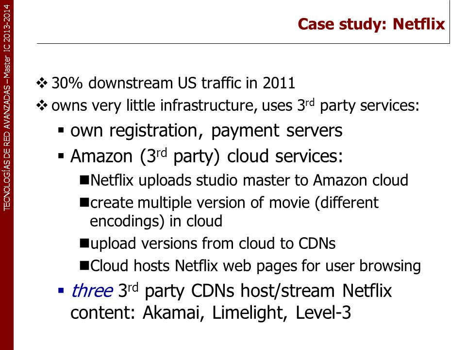 own registration, payment servers Amazon (3rd party) cloud services: